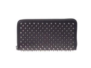 innovative design 5e8f8 e3990 クリスチャンルブタン] Christian Louboutin ラウンドファスナー財布 ...